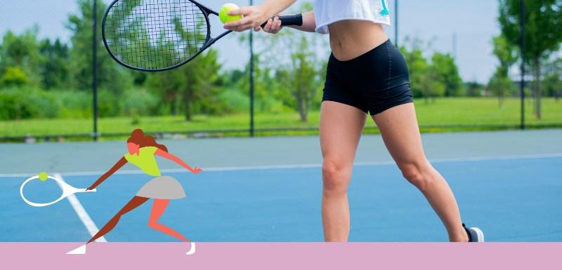 woman tennis coach